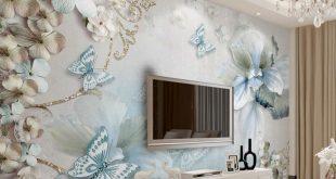 صوره ديكور ورق جدران , اجمل تصميمات ورق الحائط