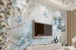صورة ديكور ورق جدران , اجمل تصميمات ورق الحائط