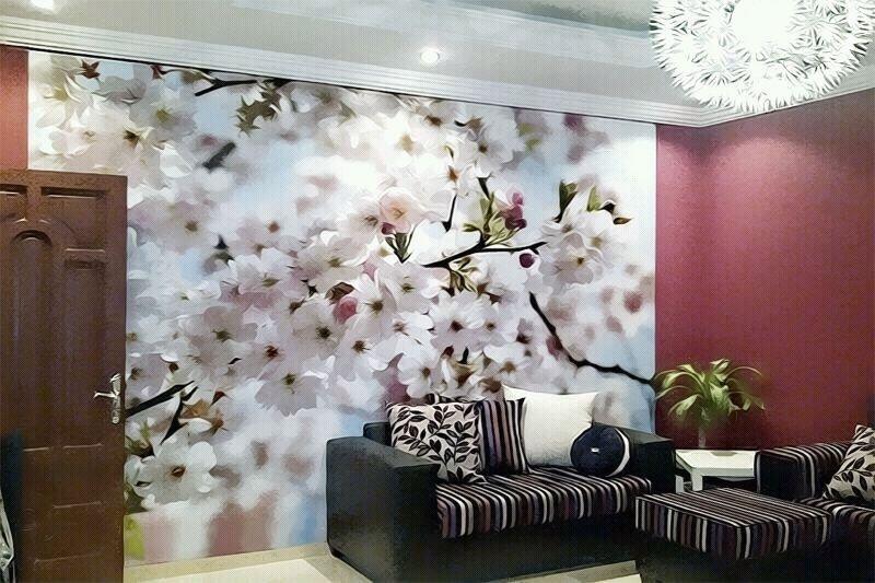 بالصور ديكور ورق جدران , اجمل تصميمات ورق الحائط 2946 4