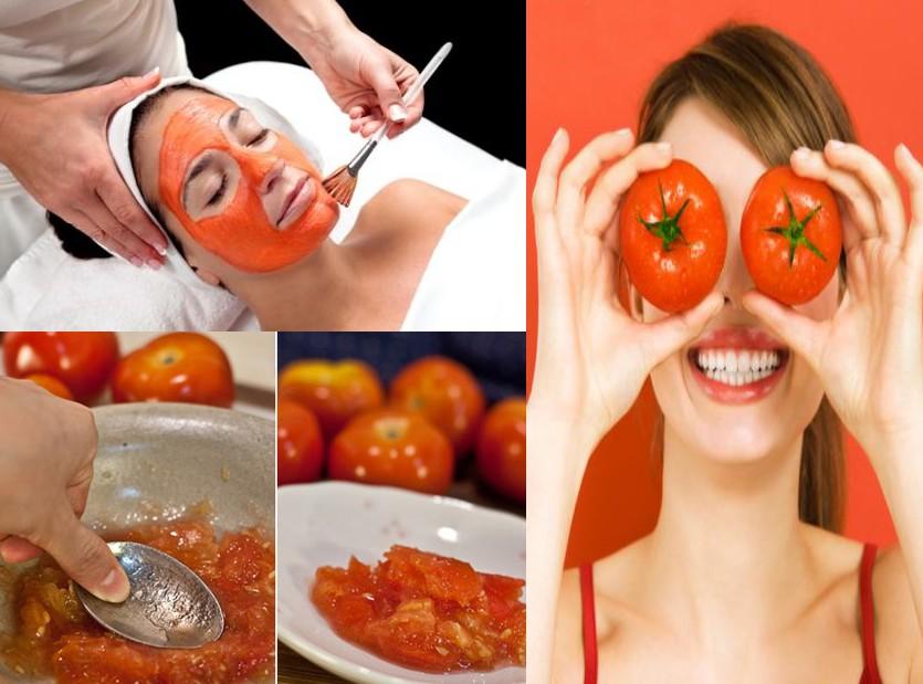 صور فوائد البندورة للبشرة , فائدة قناع الطماطم للبشرة