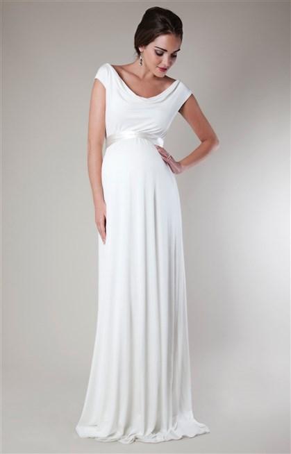 صور فستان سهرة للحوامل , افكار لازياء السهرة للمراة الحامل