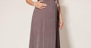 صوره فستان سهرة للحوامل , افكار لازياء السهرة للمراة الحامل