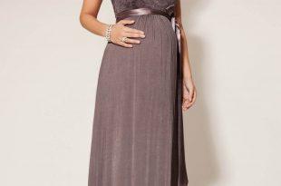 صورة فستان سهرة للحوامل , افكار لازياء السهرة للمراة الحامل
