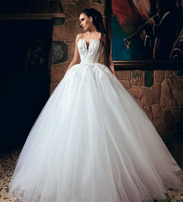 بالصور فستان عروس فيس بوك , اجمل فساتين زفاف متنوعة 5662 10