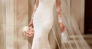 صورة فستان عروس فيس بوك , اجمل فساتين زفاف متنوعة