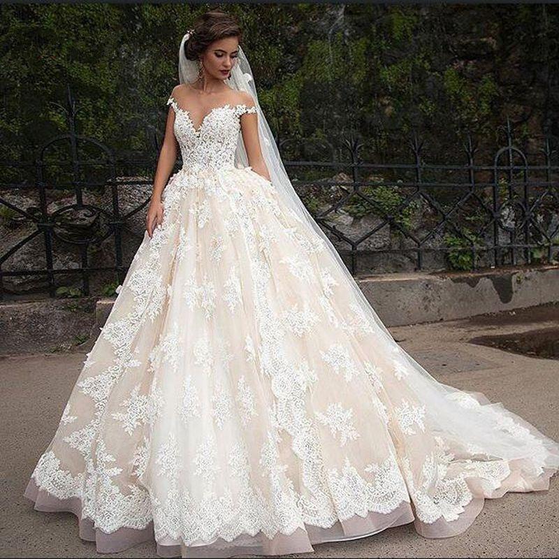 بالصور فستان عروس فيس بوك , اجمل فساتين زفاف متنوعة 5662 3
