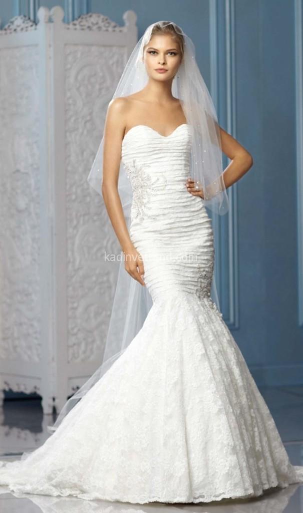 بالصور فستان عروس فيس بوك , اجمل فساتين زفاف متنوعة 5662 7