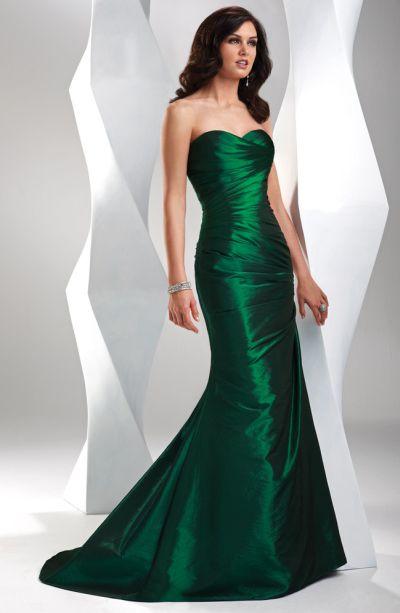 بالصور فساتين باللون الاخضر , اجمل الاطلالات بفساتين لونها اخضر غاية في الجمال 5663 3