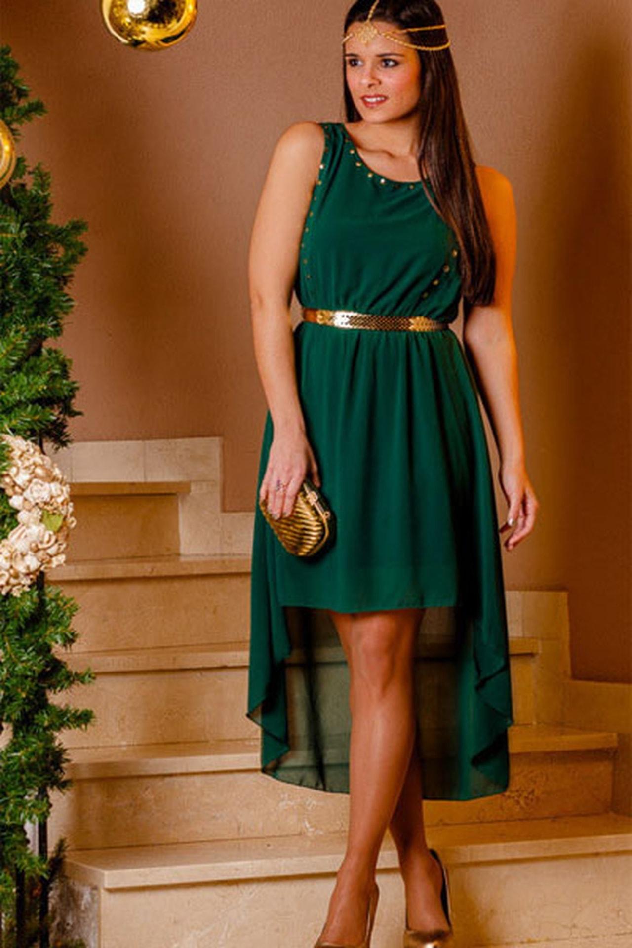 بالصور فساتين باللون الاخضر , اجمل الاطلالات بفساتين لونها اخضر غاية في الجمال 5663 5