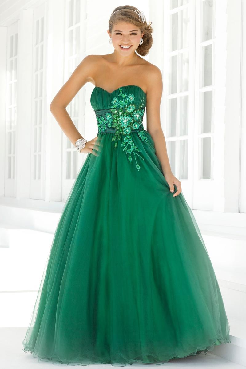 بالصور فساتين باللون الاخضر , اجمل الاطلالات بفساتين لونها اخضر غاية في الجمال 5663 8