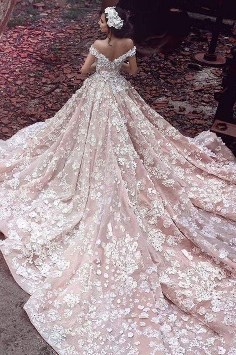 صوره فساتين عرايس انستقرام , اجمل موديلات فساتين الزفاف