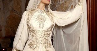 صوره فساتين جزائرية للاعراس , 10 صور لاشيك فساتين الزفاف الجزائرية