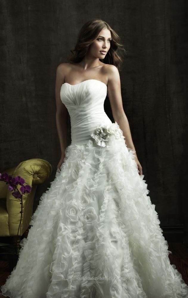 صورة اجمل فساتين اعراس , احلى فساتين زفاف ناعمة