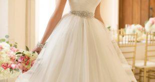 صوره اجمل فساتين اعراس , احلى فساتين زفاف ناعمة