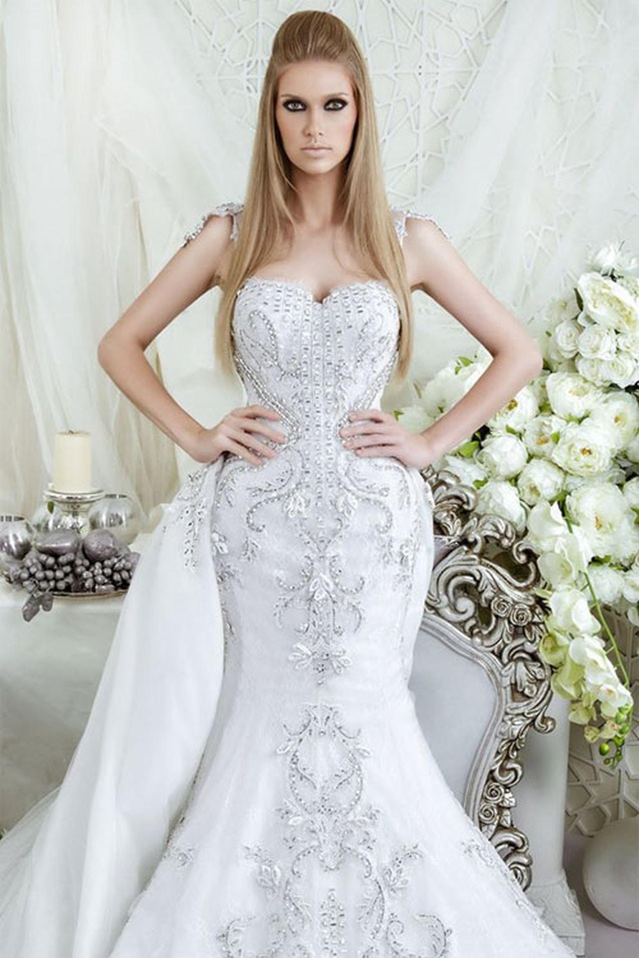 بالصور اجمل فساتين اعراس , احلى فساتين زفاف ناعمة 5683 3