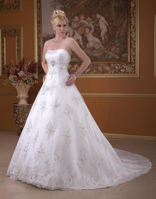 بالصور اجمل فساتين اعراس , احلى فساتين زفاف ناعمة 5683 6