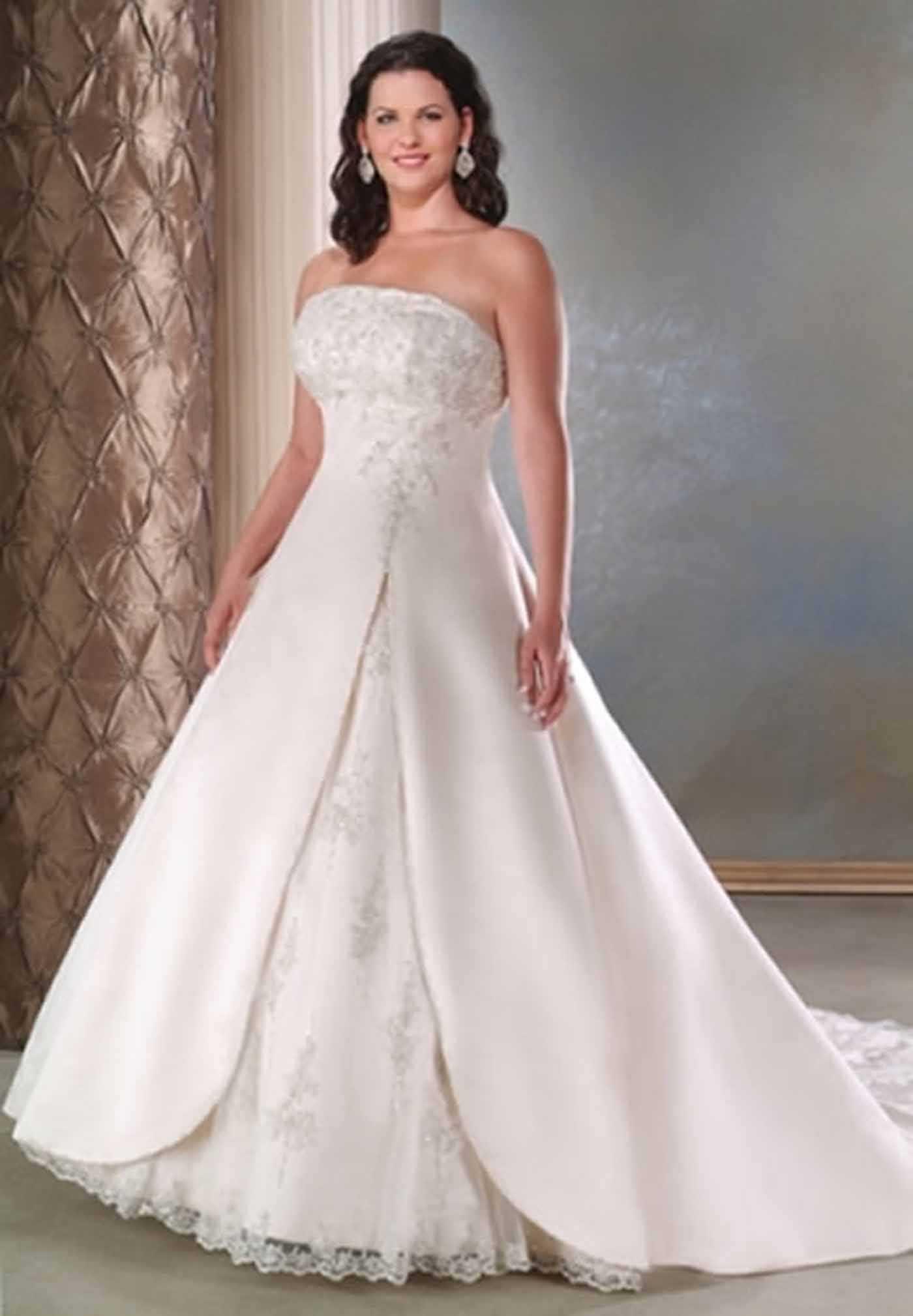 بالصور اجمل فساتين اعراس , احلى فساتين زفاف ناعمة 5683 9