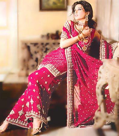بالصور موديلات فساتين هنديه , اروع تشكيلة من الفساتين الهندي 5701 3
