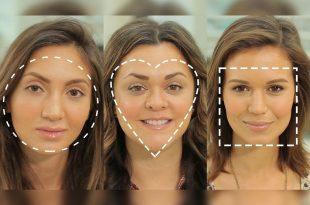صورة اشكال الوجه بالصور , اعرف بالصور شكل وجهك