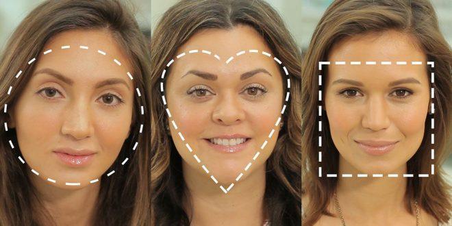 صور اشكال الوجه بالصور , اعرف بالصور شكل وجهك