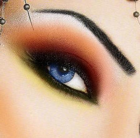 بالصور صور مكياج للعيون , احدث صور مكياج للعيون . 6814 5