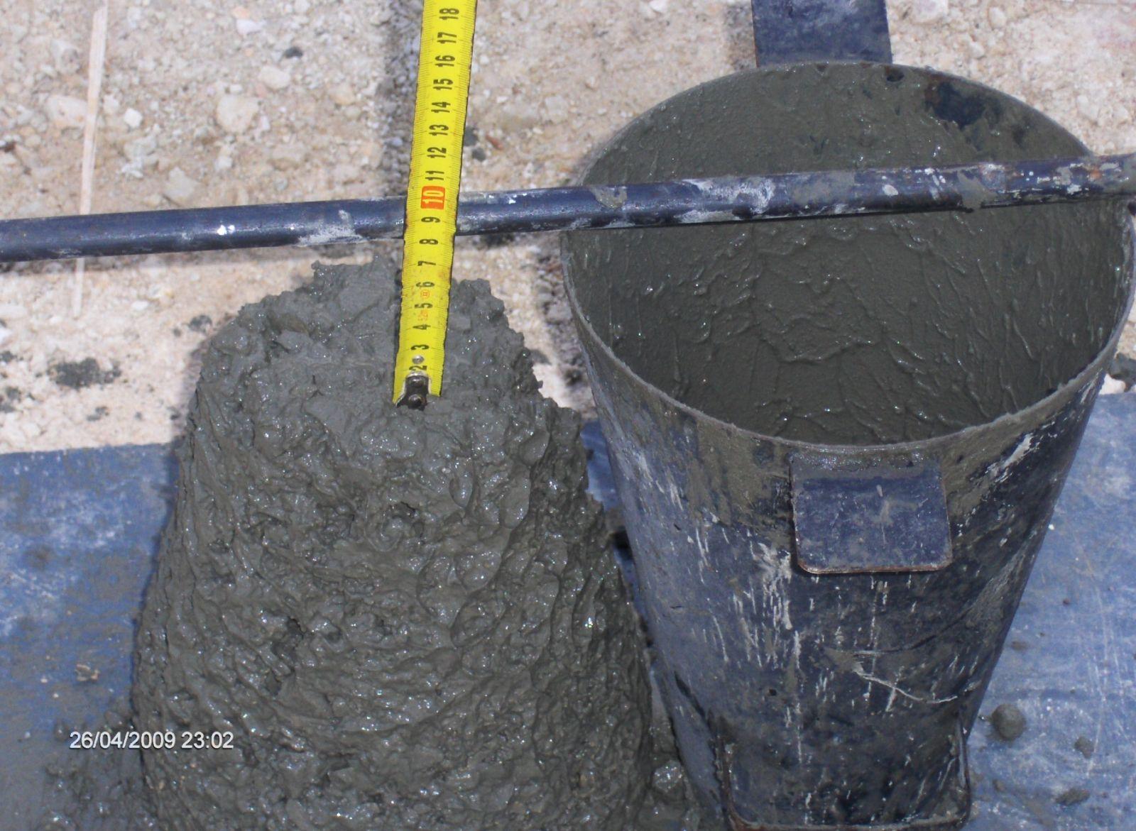 صورة تصميم الخلطات الخرسانية , محاضرة في طريقة تجهيز الخلطة الخرسانية
