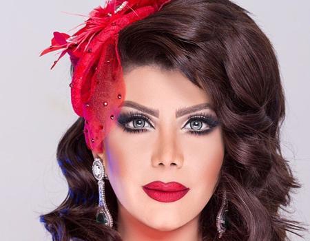 صوره مكياج الهام الفضاله , طريقة عمل مكياج كامل مع الممثلة الكويتية الهام الفضاله