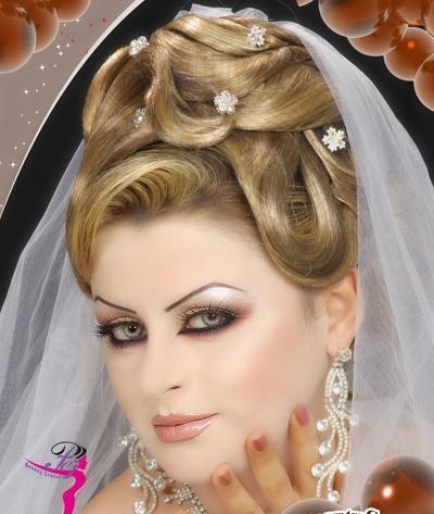 بالصور صور تسريحات عروس , احدث صور تسريحات عروس . 7162 5