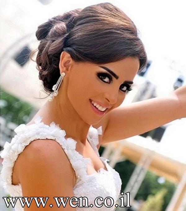 بالصور صور تسريحات عروس , احدث صور تسريحات عروس . 7162 9
