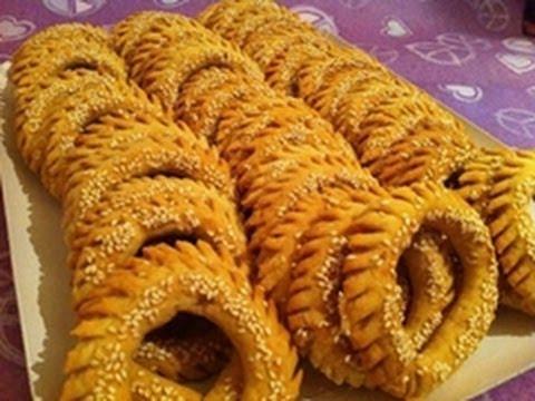 صورة حلويات العيد الليبية , اشهر الحلويات الليبية في العيد