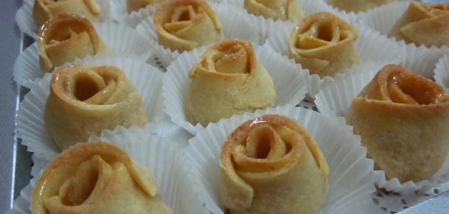 صورة حلى ورد الجوري , تعرف على طريقة بسيطة لتحضير حلى ورد الجوري