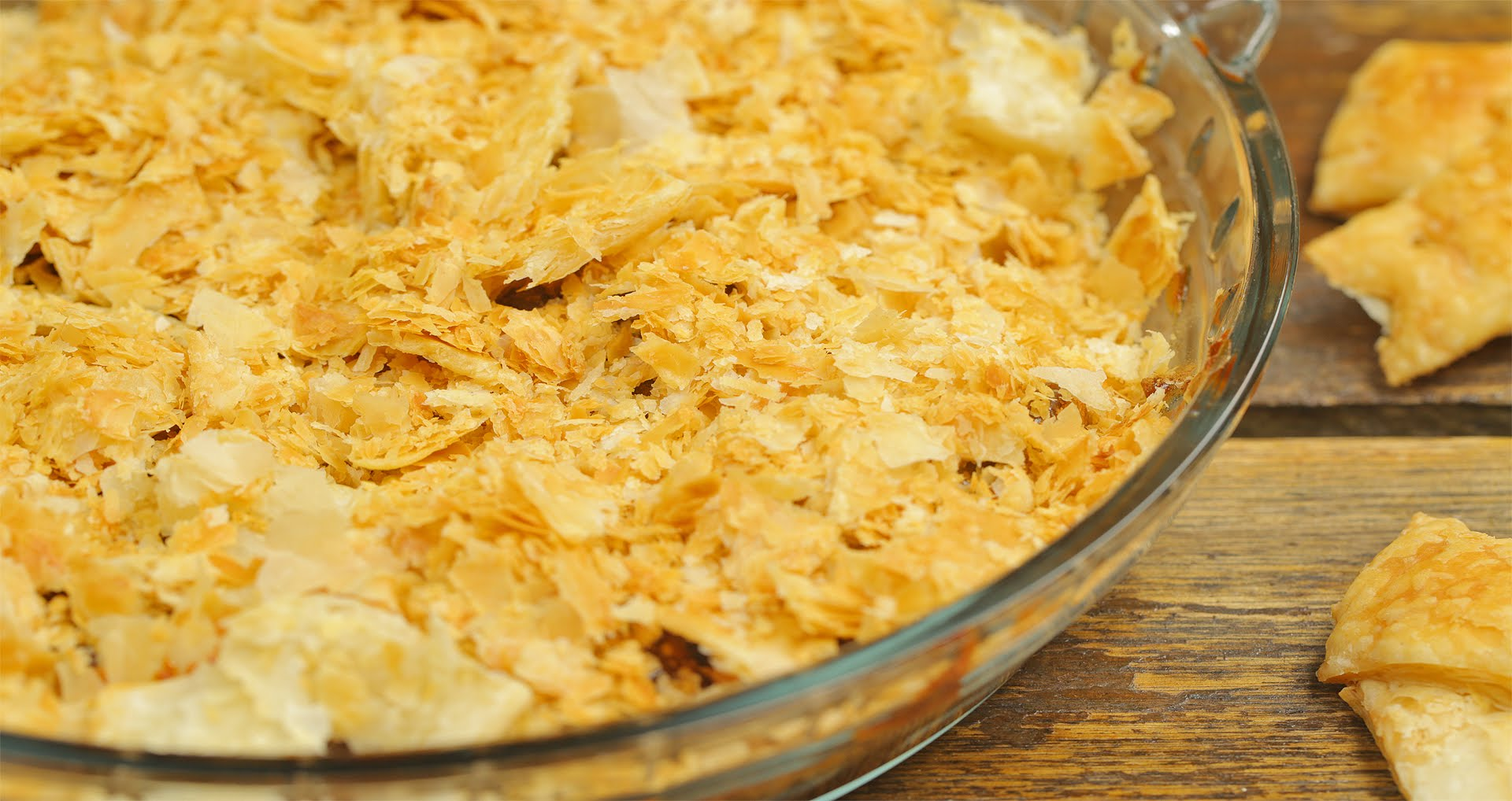 صور حلى قشور البصل طريقة سهلة وسريعة لتحضير كيك قشور البصل