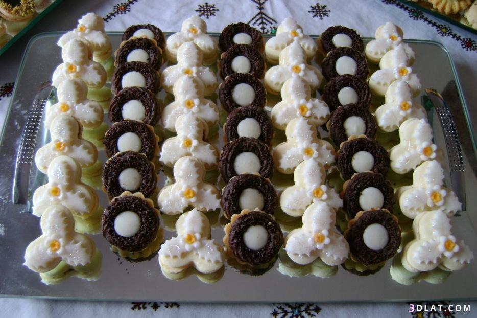 بالصور حلويات جزائرية عصرية , صور لاجمل الحلويات الجزائرية الحديثة في المناسبات 8074 1