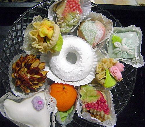 بالصور حلويات جزائرية عصرية , صور لاجمل الحلويات الجزائرية الحديثة في المناسبات 8074 4