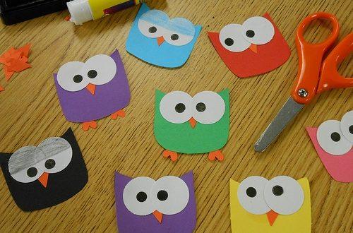 صور اشغال يدوية للاطفال , افكار تدوير الكارتون لصنع اعمال فنية للصغار