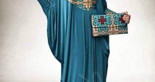صوره موديلات عبايات مصرية , صور اشيك عبايات خروج المصرية