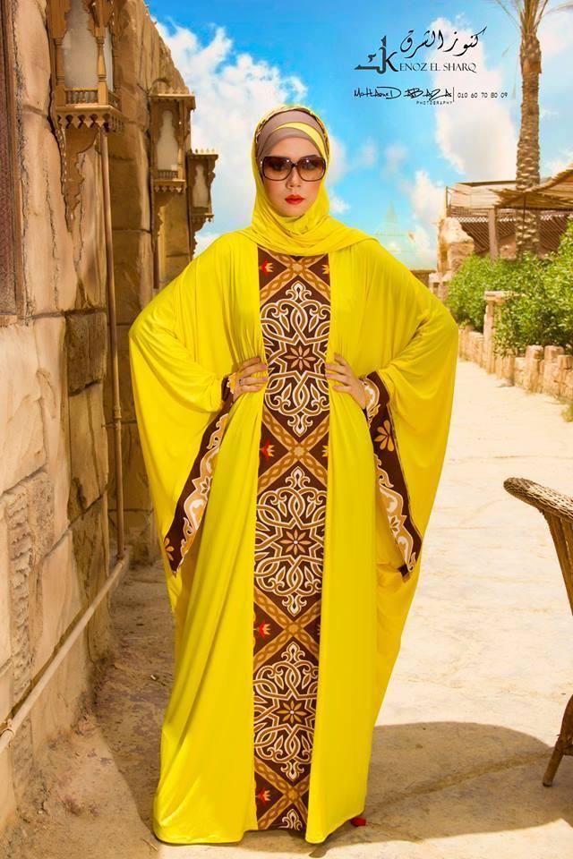 بالصور موديلات عبايات مصرية , صور اشيك عبايات خروج المصرية 5670 4