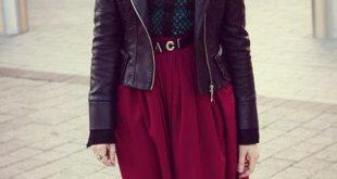 صوره لبس محجبات شتوي , اجمل الازياء الشتوية للمحجبات