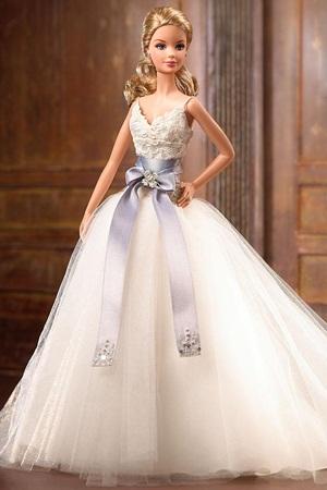 صورة فساتين زفاف باربي , بالصور اجمل موديلات فساتين باربي للزفاف