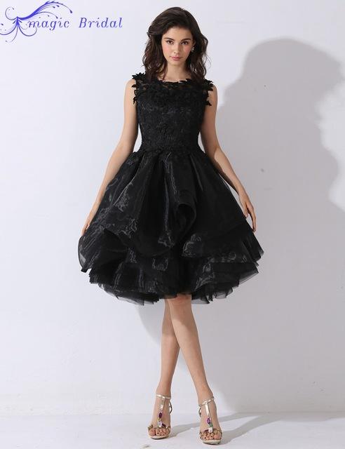 بالصور فساتين سوداء قصيرة , احدث موديلات الفساتين السوداء القصيرة للصبايا 5695 3