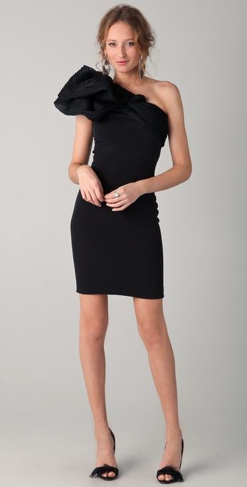 بالصور فساتين سوداء قصيرة , احدث موديلات الفساتين السوداء القصيرة للصبايا 5695 6