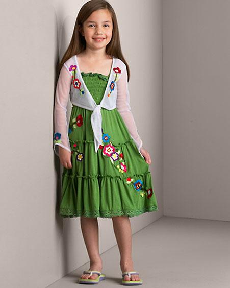 بالصور ملابس بنات للعيد , اجمل ملابس العيد للبنات الصغيرات 5721 4