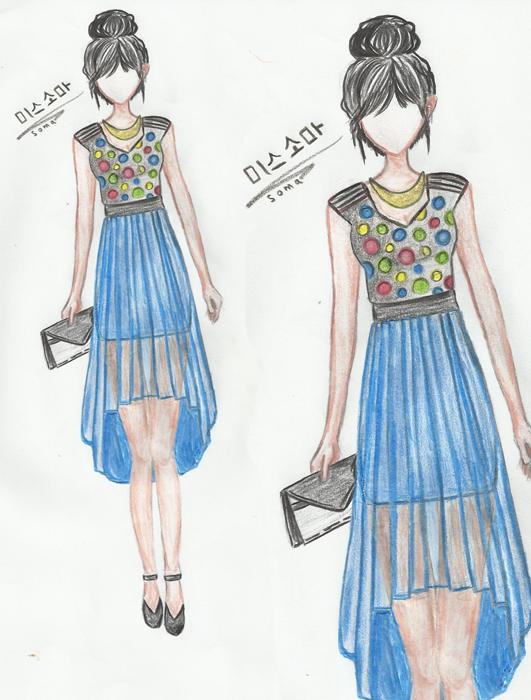 بالصور رسم فساتين ازياء رسم فساتين للمبتدئين , كيفية رسم تصميم الفساتين 5723