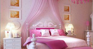 صوره غرف نوم ورديه , اروع غرف نوم رومانسية
