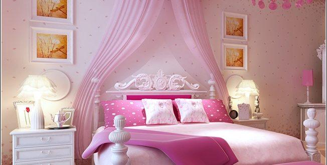 صورة غرف نوم ورديه , واو اروع غرف نوم رومانسية