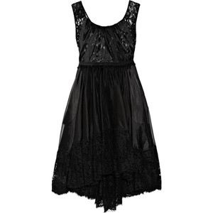 بالصور احدث الفساتين القصيرة , فساتين سهرة قصيرة باللون الاسود 5144 7