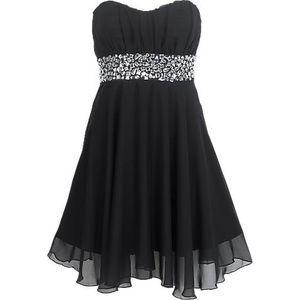 8dbbbe0a2 احدث الفساتين القصيرة , فساتين سهرة قصيرة باللون الاسود - صبايا كيوت
