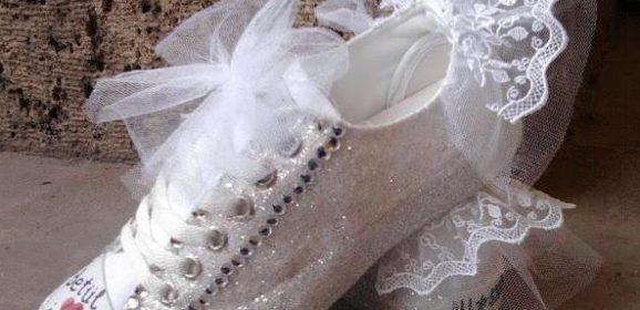 بالصور اخر موضة للاحذية , موضه الكوتشيات للعرائس 5155 4