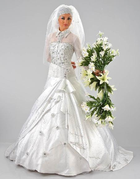 بالصور احلى فساتين اعراس احلى فساتين خطوبة , فساتين منقوشة الخطوبة 5157 6