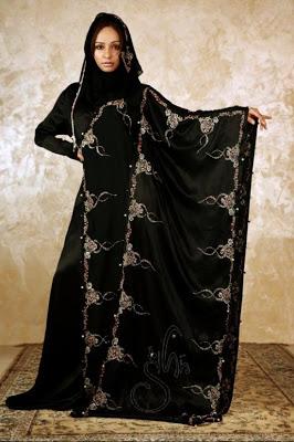 بالصور تصميم عبايات خليجية , عبايات خليجي لعيد الام 5163 4